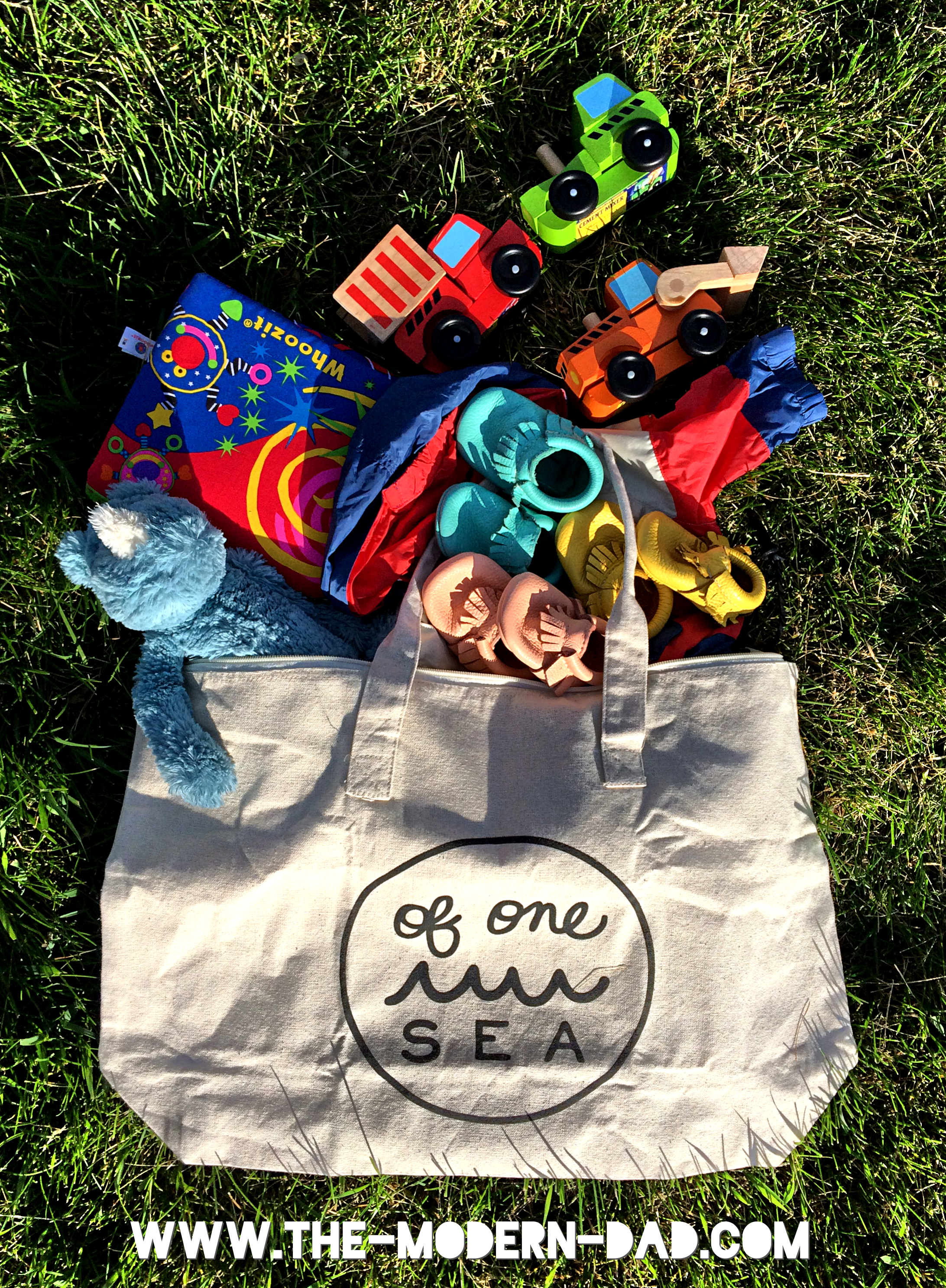 of one sea bag at the park