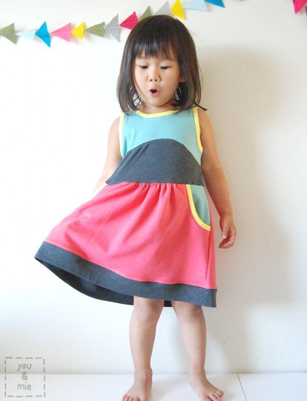 color_block_dress