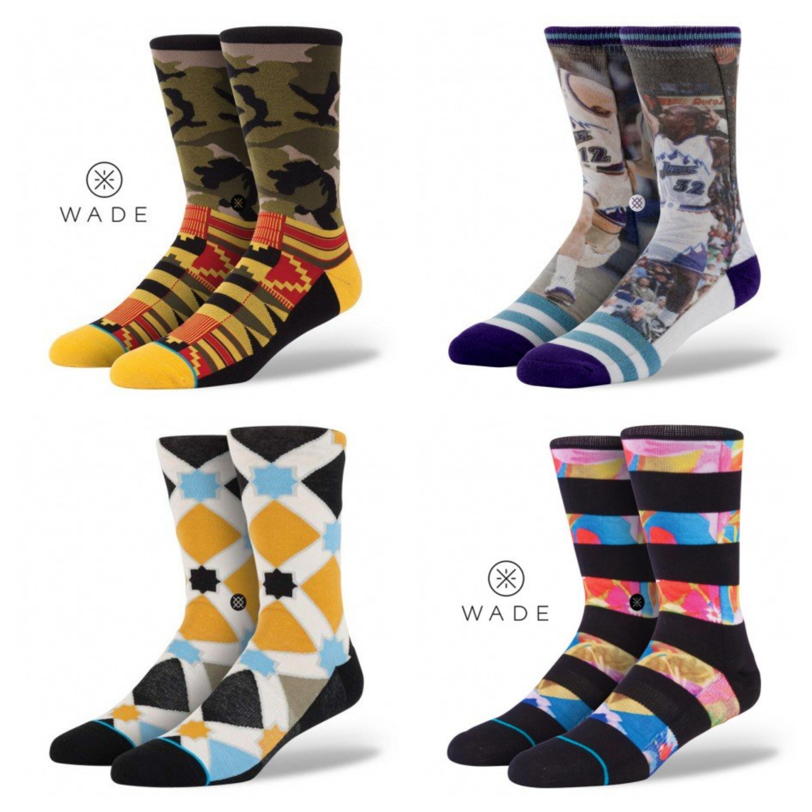 stace socks collage