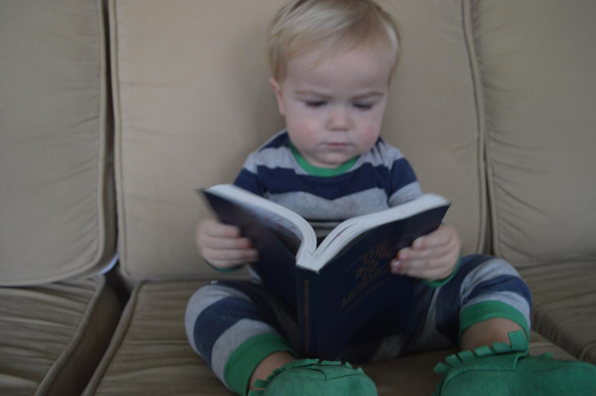 Nixon Reading Scriptures