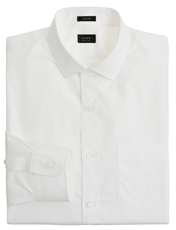 J Crew - Ludlow white shirt | The Modern Dad