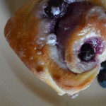 Lemon Blueberry Cinnamon Rolls | The Modern Dad