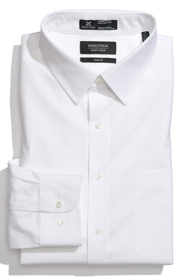 Nordstrom | White Button Up | The Modern Dad
