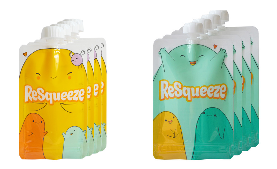 ReSqueeze comes in two perfect sizes that are set apart by color | The Modern Dad