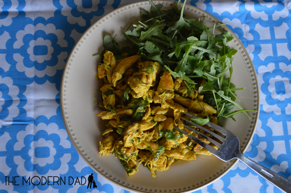 Spicy Curry Chicken Salad | The Modern Dad