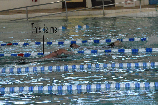 Swimming the Triathlon laps | The Modern Dad