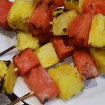 Grilled Watermelon Pineapple Kabobs | The Modern Dad
