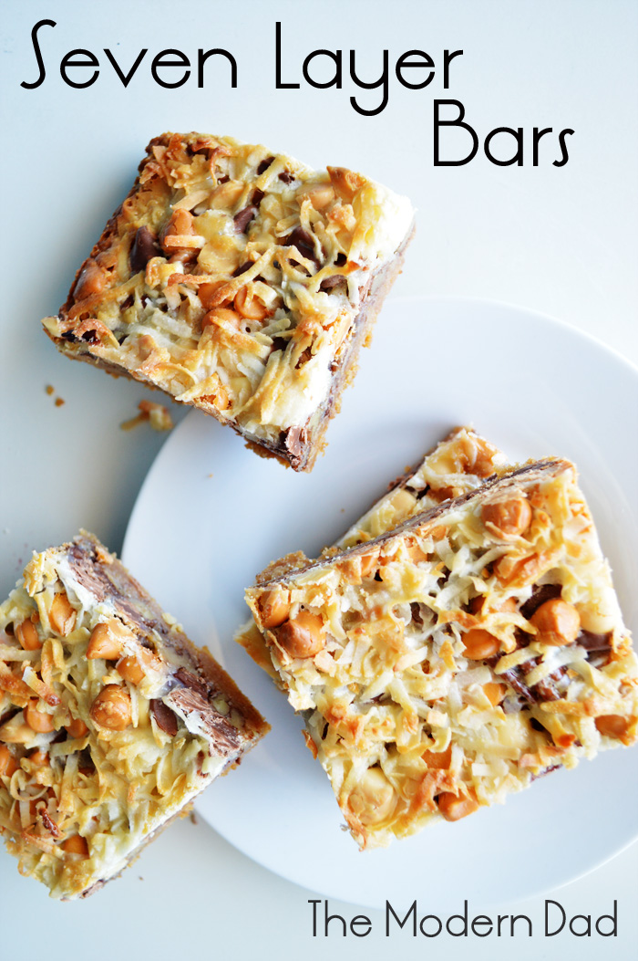 Classic Seven Layer Bars | The Modern Dad