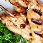Grilled Coconut-Lime Chicken Skewers | The Modern Dad