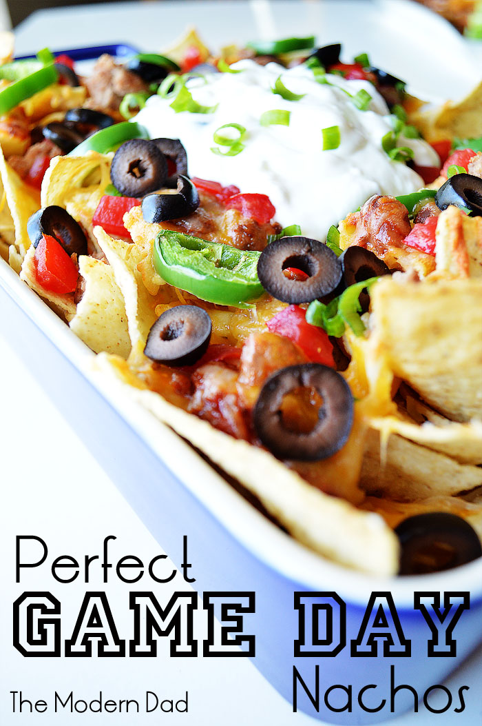 Perfect Game Day Nachos | The Modern Dad