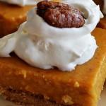 No Bake Pumpkin Pie Bars | The Modern Dad