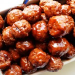 Simple BBQ Meatballs | The Modern Dad