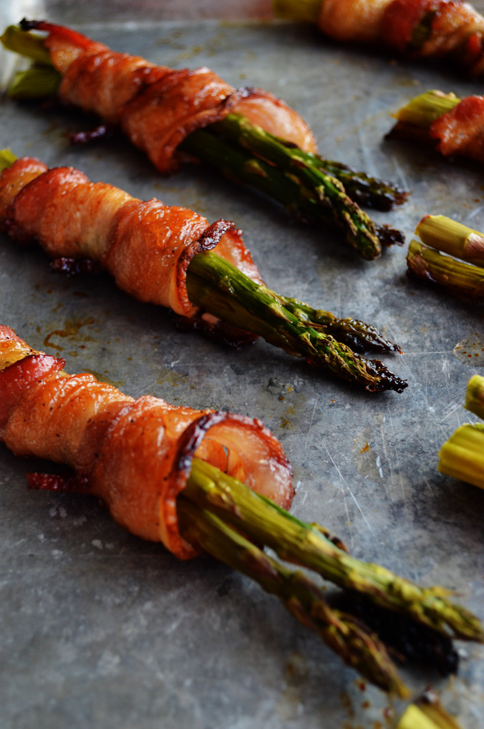 Delicious and Simple Bacon Wrapped Asparagus | The Modern Dad