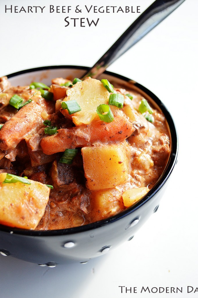 Deliciously Hearty Beef and Vegetable Stew | The Modern Dad