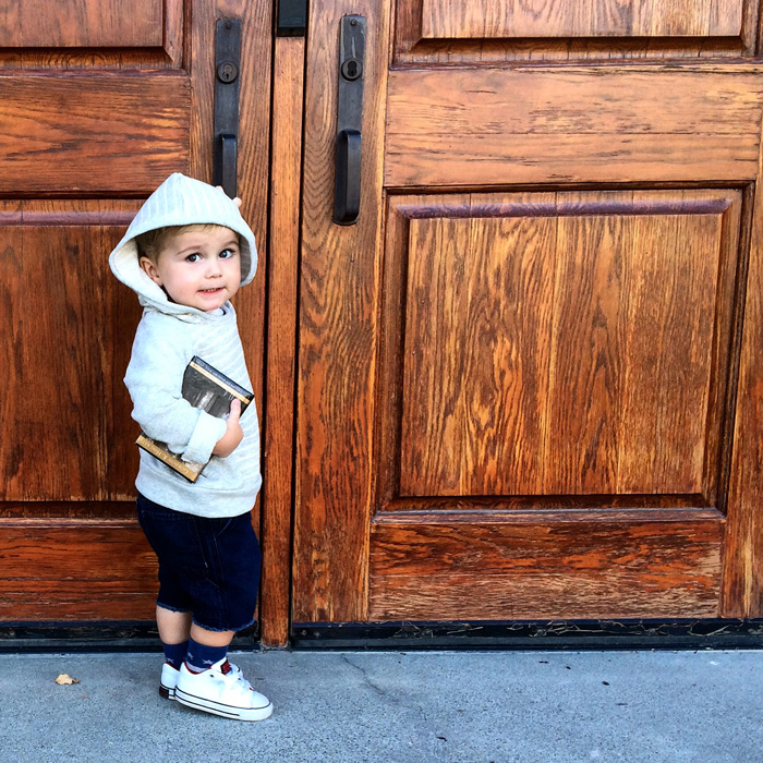 We love Childhoods Clothing Co in our home for these cold winter months | The Modern Dad