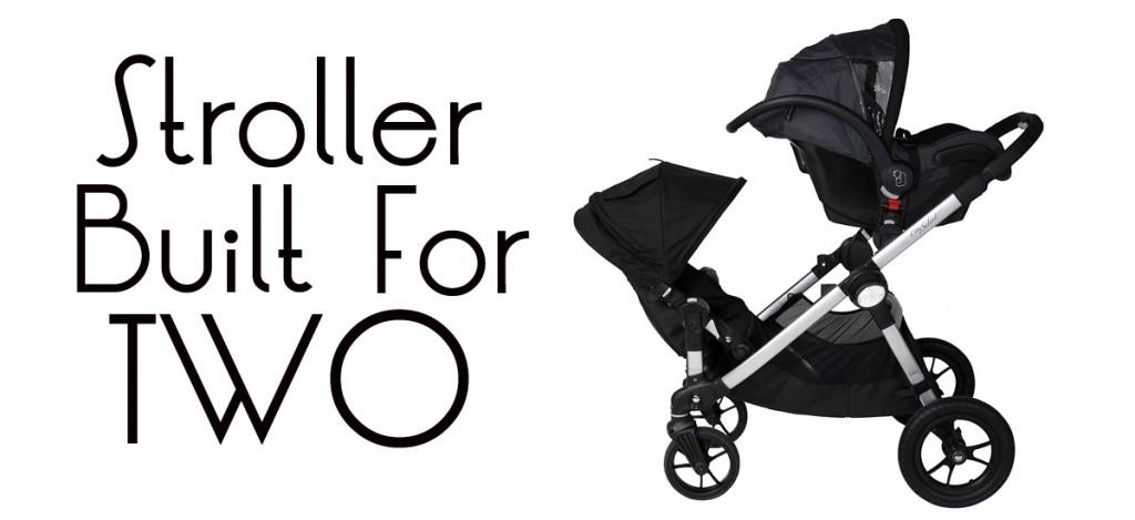 Stroller Built for Two