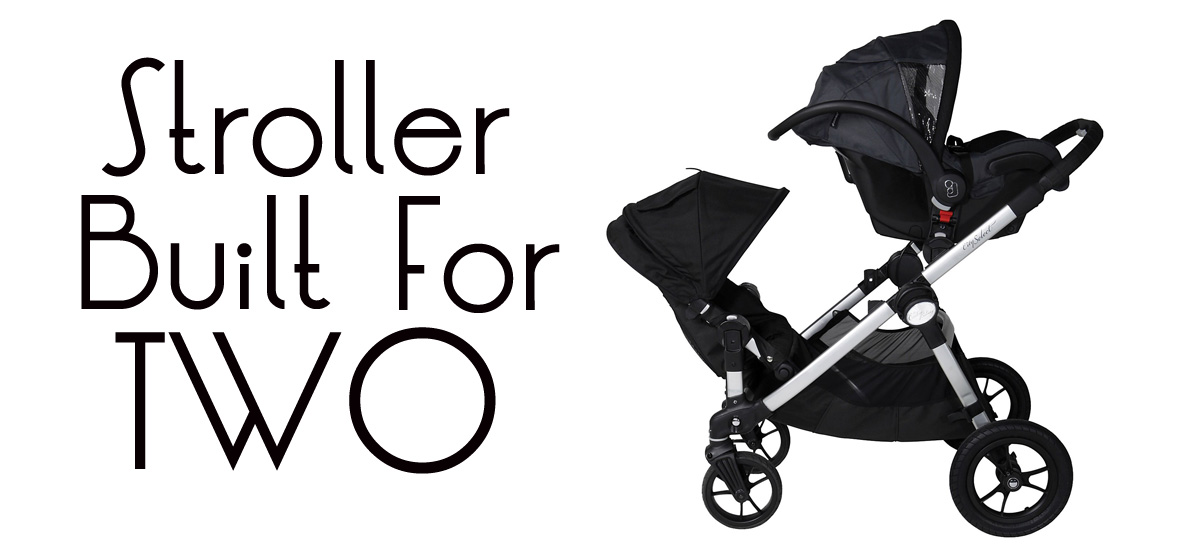 Stroller Built for Two   The Modern Dad