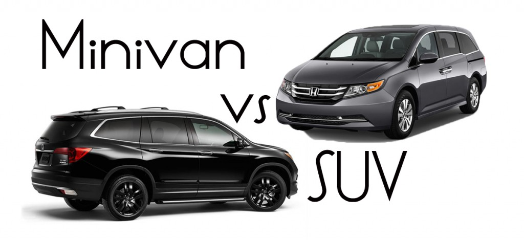 Minivan VS SUV: Which is Right for Us?