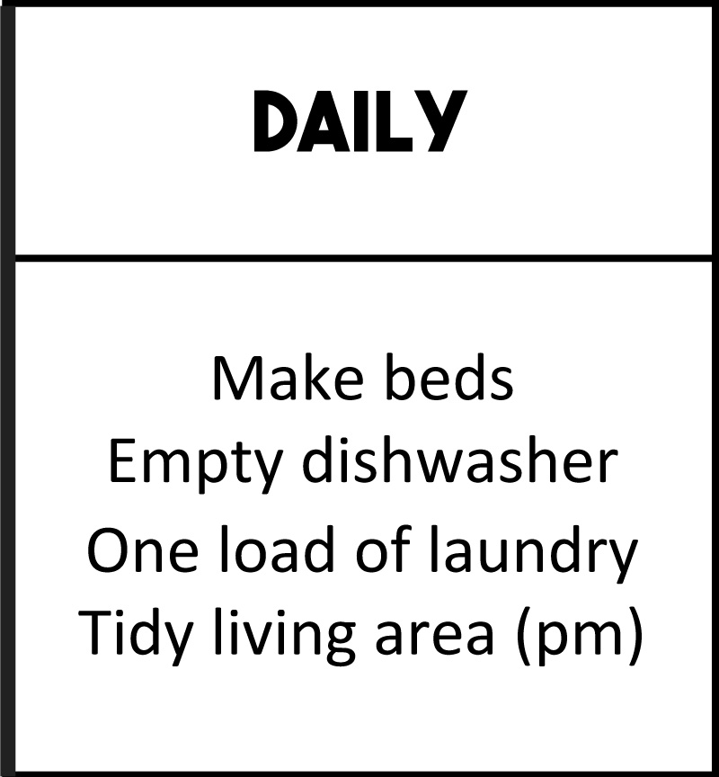 Let's Make Cleaning Easier | Cleaning Checklist | The Modern Dad