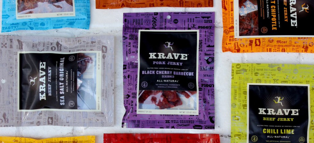 Cut the Cravings with Krave Jerky