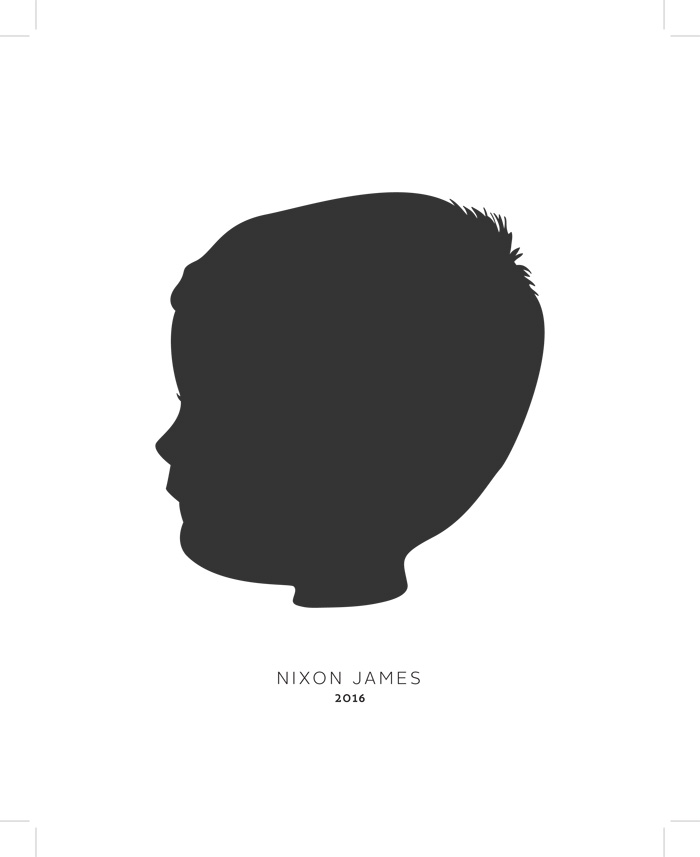 Perfect Silhouettes by Postmark Studios   The Modern Dad
