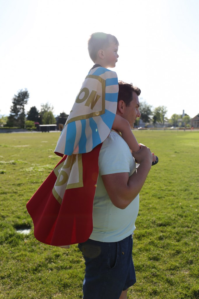 Being A Hero, A Super Dad + Giveaway with The Modern Dad