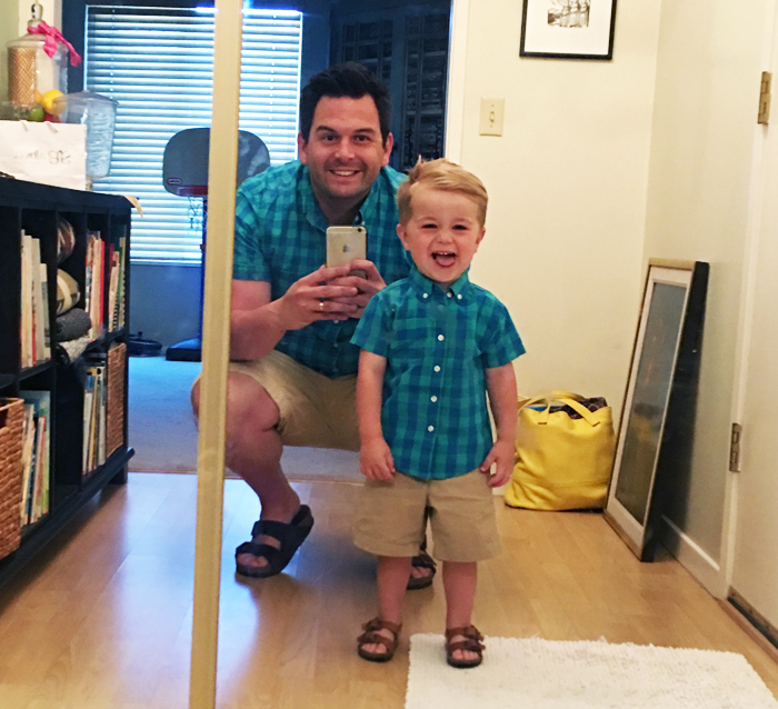 Matching Father Son Summer Fashion by The Modern Dad