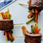 Delicious Steak Veggie Wraps by The Modern Dad