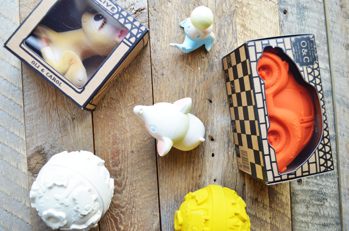 Favorite Bath Teething Toys by The Modern Dad