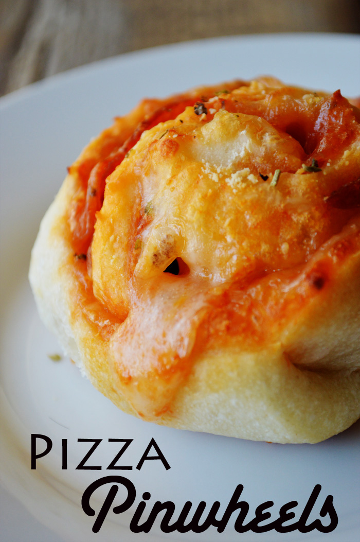 Simple Pizza Pinwheels by The Modern Dad