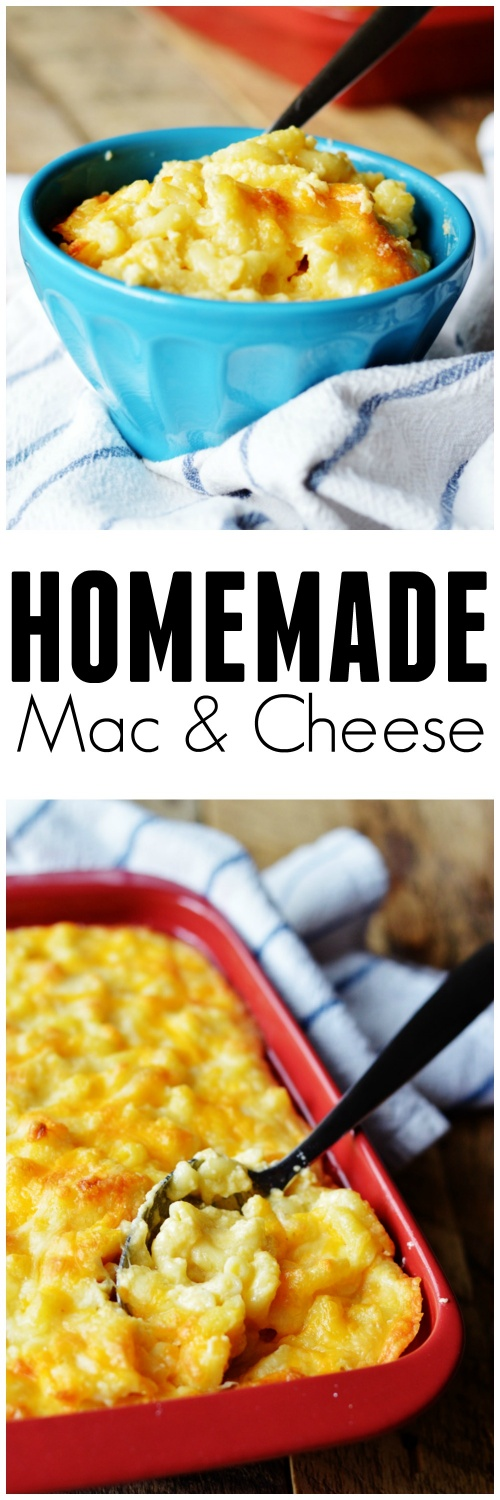Delicious Homemade Mac and Cheese by The Modern Dad