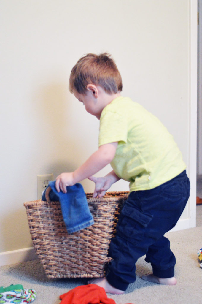 Toddler Chore Chart | Free Printable by The Modern Dad