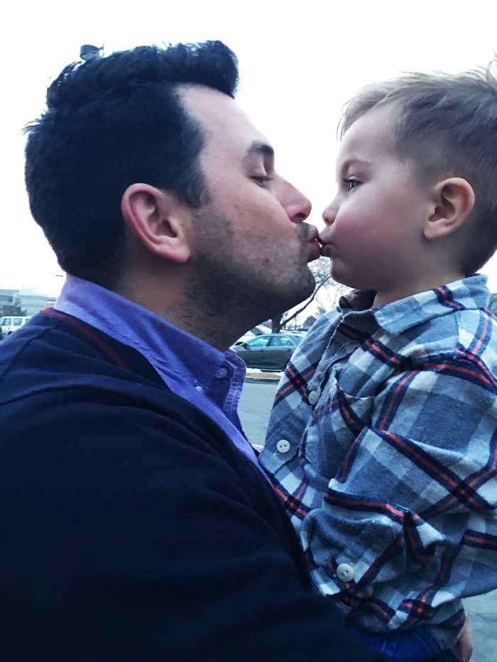 Kissing Your Kids, So What's the Issue?