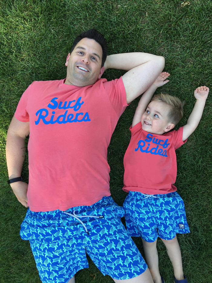 Summer Time Style | Matching My Mini Me by The Modern Dad