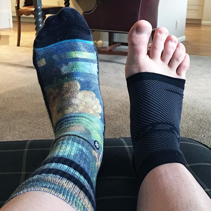 Marathon Training Week 33 | Five Planter Fasciitis Treatments by The Modern Dad