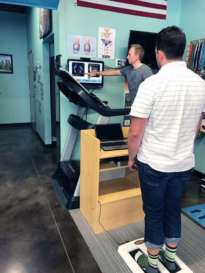RunGr8 Running Center Biomechanical Analysis