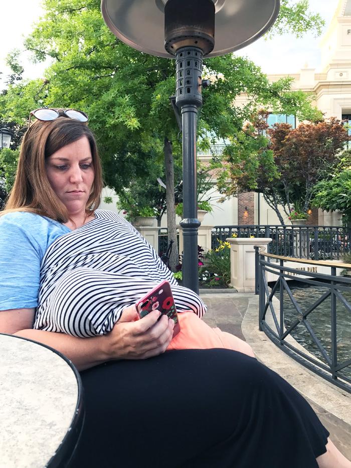 Publicly Feeding A Child—Breastfeeding by The Modern Dad