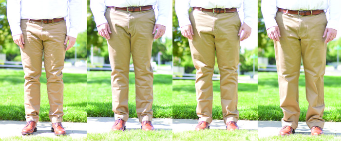 Finding the Prefect Fit Chinos by The Modern Dad