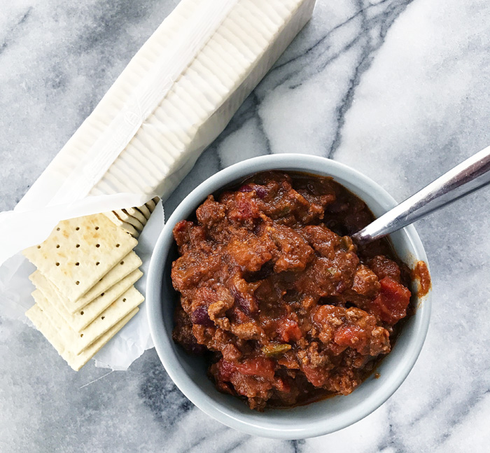 Slow-Cooker Spicy Pumpkin Chili