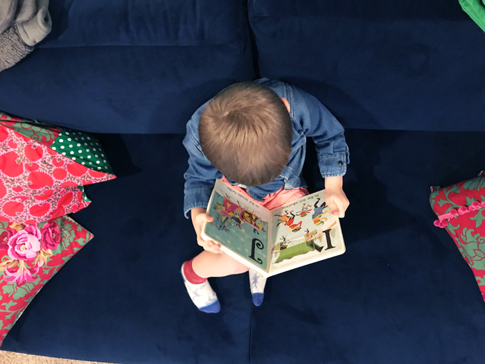#12DaysOfGiveaways   Our BabyLit Book Tradition by The Modern Dad