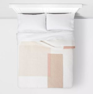 Colorblock Quilt Peach – Project 62™ + Nate Berkus™