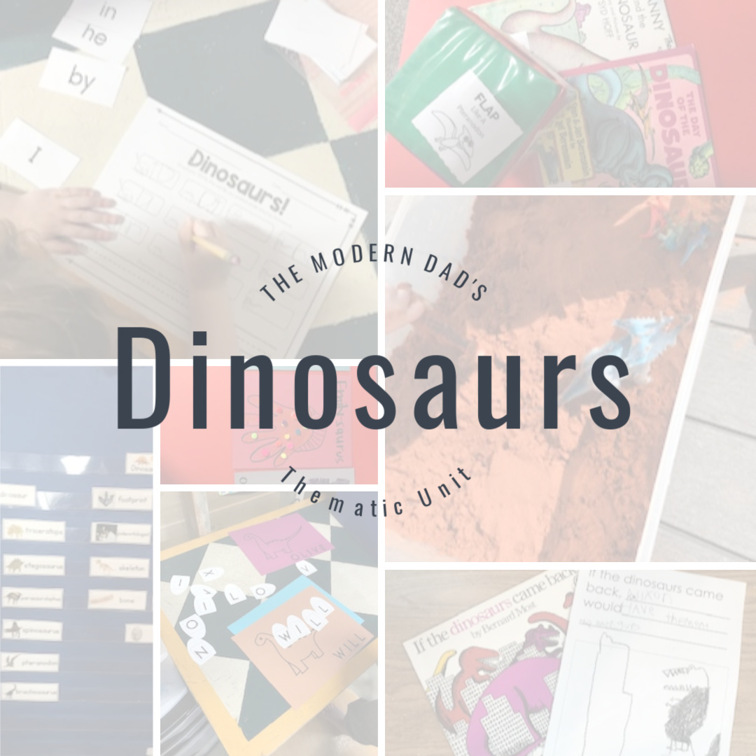 Homeschool Theme: Dinosaurs