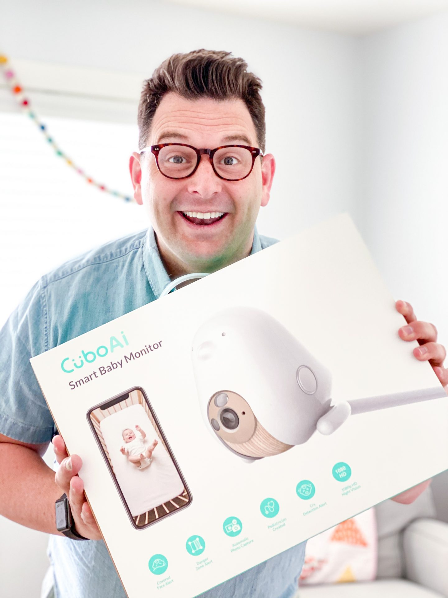 We Got a Baby Monitor | Cubo Ai Smart Baby Monitor Review