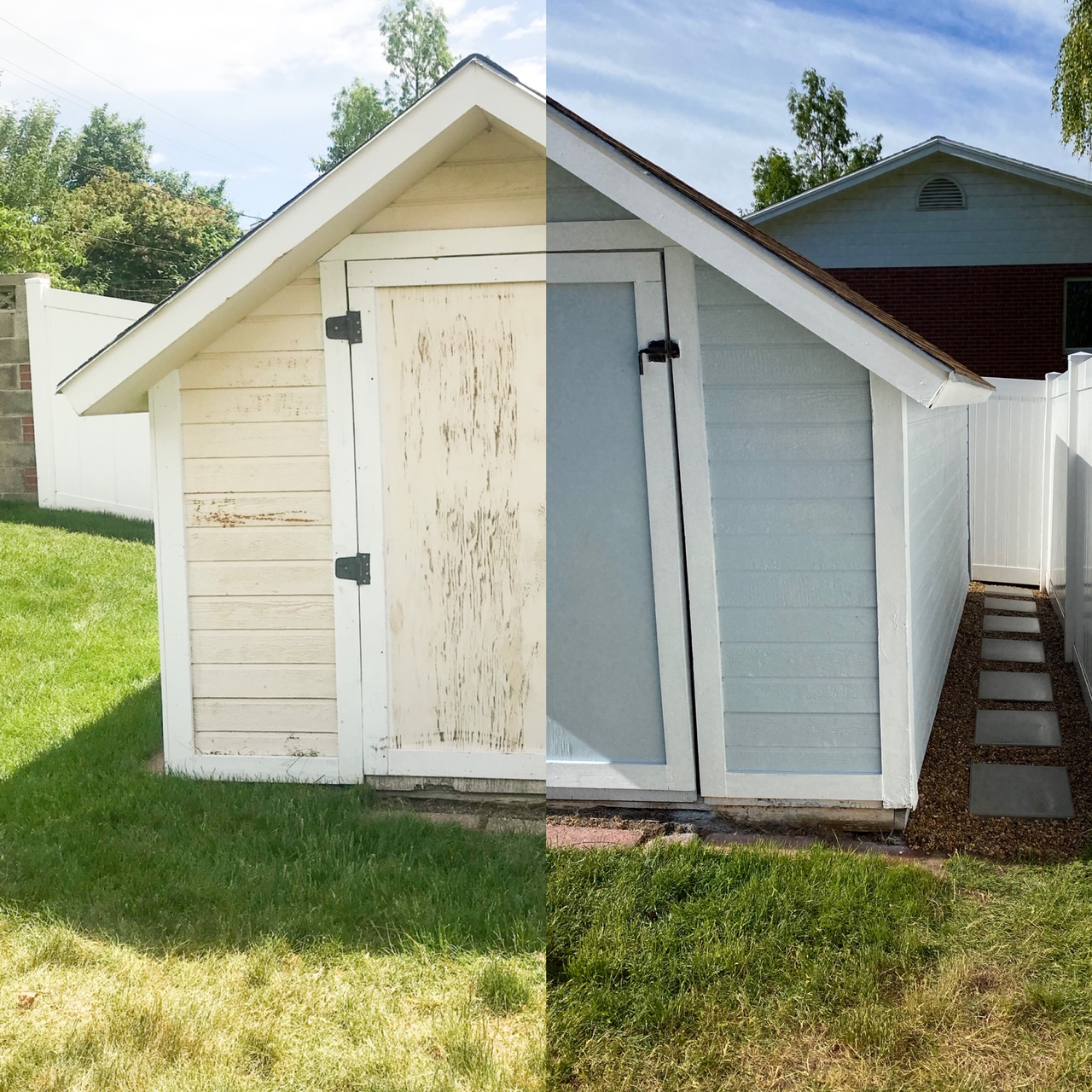 From Shack to Shed | Our Simple Shed Remodel