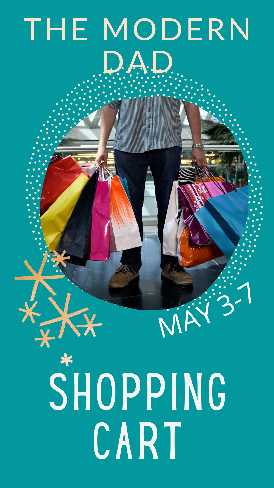The Modern Dad Shopping Cart | May 3-7