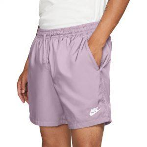 """Nike Men's Sportswear 6"""" Woven Flow Shorts Lilac"""