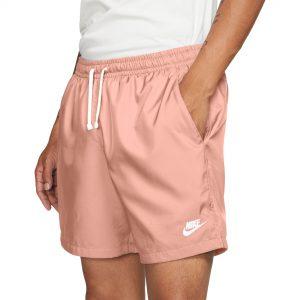 """Nike Men's Sportswear 6"""" Woven Flow Shorts Light Arctic Orange"""