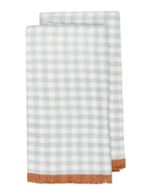 Two-Tone Gingham Hand Towel