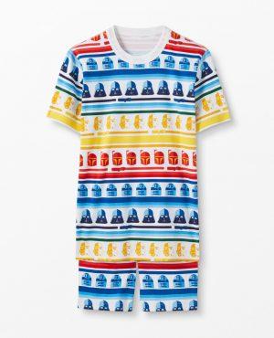 Adult Star Wars™ Short John Pajamas In Organic Cotton