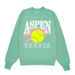 Aspen Tennis Crewneck Sweatshirt
